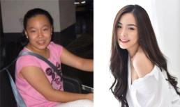 Cô gái lai Hàn đang học tại Việt Nam khoe ảnh 'dậy thì thành công': Từ đen nhẻm mập ú lột xác thành mỹ nhân
