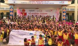 CapitaLand xây trường mẫu giáo Lệ Xá CapitaLand Hope
