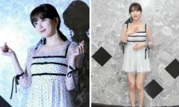 Diện trang phục ngắn cũn cỡn, Suzy lộ thân hình phát tướng với đùi to và eo bánh mì