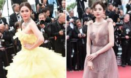 LHP Cannes ngày 6: Học Phạm Băng Băng, mỹ nhân Thái Lan hóa công chúa với đầm xếp tầng