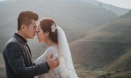 Nam ca sĩ Lâm Vũ mặc áo dân tộc chụp ảnh cưới với bà xã Việt Kiều