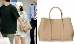 Ăn vận giản dị nhưng Song Hye Kyo lại sành điệu khi xách túi hàng hiệu giá 80 triệu đồng