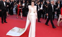 Kín đáo nhưng kiêu kì, Lý Nhã Kỳ mang mặt trời phương Đông Vịnh Hạ Long rực rỡ trên thảm đỏ Cannes