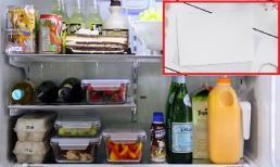Mẹo tiết kiệm điện hiệu quả cho tủ lạnh chỉ với 1 tờ giấy