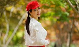 Diễn viên Mai Thu Huyền 'hồi teen' khi đi du lịch Hàn Quốc