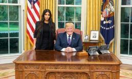 Kim Kardashian được ưu ái đặc biệt khi tới Nhà trắng gặp gỡ Tổng thống Mỹ Donald Trump