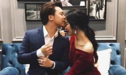 Bạn trai đăng ảnh hôn trán Hòa Minzy trong ngày sinh nhật
