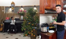 Không gian bên trong căn nhà nhỏ trong ngõ của Tú Dưa với vợ ba và các con