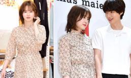 Vợ chồng Goo Hye Sun và Ahn Jae Hyun lần đầu cùng dự sự kiện: Gây sốt vì quá tình và đẹp như 'tiên đồng ngọc nữ'