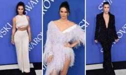 Chị em nhà Kim Kardashian nóng bỏng, 'khuynh đảo' lễ trao giải thời trang danh giá