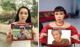 Sao Việt hưởng ứng trào lưu 'tìm người lạc', đua nhau 'cầu cứu' cộng đồng mạng' tìm hộ người thân