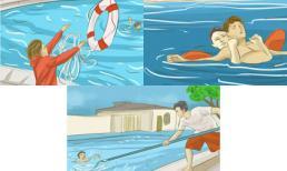 Thời điểm vàng cứu người bị đuối nước ngày hè ai cũng phải biết