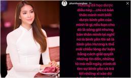 Hoa hậu Phạm Hương tiết lộ lý do ngừng sử dụng Facebook