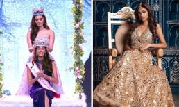 Vẻ đẹp sắc sảo của Tân Hoa hậu Ấn Độ 2018