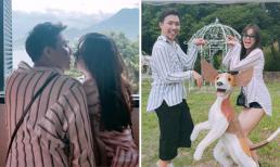 Trấn Thành đưa vợ đi du lịch Đài Loan trong ngày sinh nhật