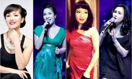 Bộ tứ diva làng nhạc Việt: Người hạnh phúc vẹn tròn, kẻ duyên tình trắc trở