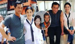 Cặp đôi nổi tiếng Hong Kong Cổ Thiên Lạc và Tuyên Huyên tái hợp sau gần 20 năm