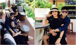 Long Nhật đưa cả gia đình đi nghỉ dưỡng tại Phukhet - Thái Lan