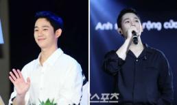 """Báo Hàn đăng loạt ảnh fan meeting của mỹ nam """"Chị đẹp mua cơm ngon cho tôi"""" Jung Hae In tại Việt Nam"""