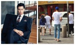 Tài tử Jo In Sung đi dép lê dạo phố Việt Nam vẫn khiến fan 'vỡ tim' vì quá điển trai
