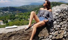 Phương Mai khoe dáng gợi cảm ở 'thiên đường du lịch' Pháp