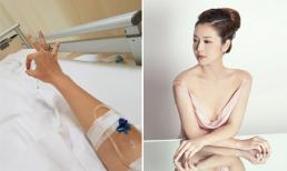 Hoa hậu Jennifer Phạm nhập viện cấp cứu vì viêm ruột thừa cấp