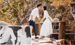 Dương Tú Anh diện đồ đôi, nắm tay hôn phu thiếu gia sau khi nhắn nhủ tới một người 'bớt sân si'