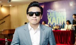Lam Trường diện vest xanh lịch lãm tái xuất lễ trao giải 'Làn sóng xanh 2018'