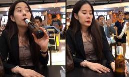 Trường Giang - Nhã Phương tái hợp, Nam Em lủi thủi ngồi uống bia một mình