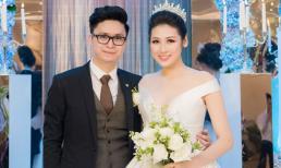 Đám cưới Á hậu Tú Anh: Cô dâu xuất hiện xinh đẹp giữa không gian tiệc hoành tráng