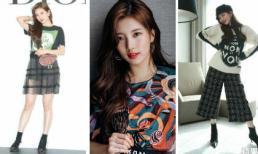 """Trở về cuộc sống độc thân, Suzy biến hóa đầy cá tính """"đốn tim"""" người hâm mộ"""