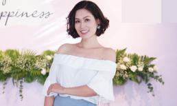 Nguyệt 'thảo mai' diện đầm trắng trễ vai khoe nét gợi cảm ở tuổi 36