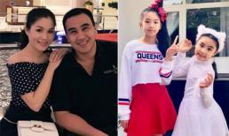 Chân dung hai cô con gái rượu càng lớn càng xinh của MC Quyền Linh