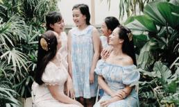 Thúy Hằng - Thúy Hạnh khoe loạt khoảnh khắc hạnh phúc bên các con gái
