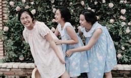 Biểu cảm đáng yêu của 3 nàng công chúa nhà Thúy Hằng - Thúy Hạnh
