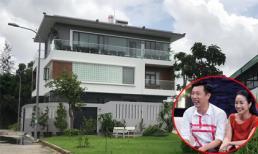 Ngắm căn biệt thự mới tậu của vợ chồng Ốc Thanh Vân