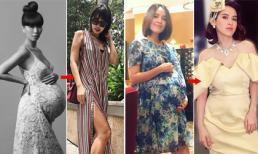 Loạt mỹ nhân Việt lấy lại vóc dáng 'thần tốc' chỉ ít ngày sau khi sinh