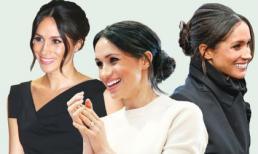 Bật mí lý do tại sao Công nương Meghan Markle thường xuyên chọn kiểu búi tóc thấp