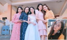 Chân dung em gái xinh đẹp vừa lên xe hoa của diễn viên Nhã Phương