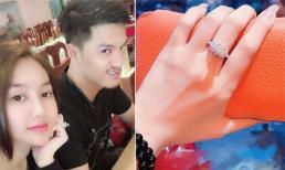 Linh Chi khoe được Lâm Vinh Hải tặng nhẫn kim cương đắt giá nhân dịp sinh nhật