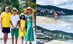 Ca sĩ hải ngoại Trúc Linh cùng gia đình tận hưởng kỳ nghỉ sang chảnh khi trở về Việt Nam