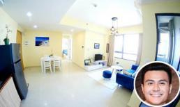 Không gian sạch sẽ, rộng rãi trong căn hộ của siêu mẫu Vĩnh Thụy