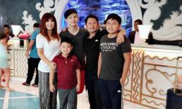 Bằng Kiều cùng vợ cũ đưa các con đi du lịch vui vẻ như 'chưa hề có cuộc chia ly'