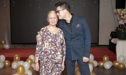 Quang Dũng hạnh phúc khi có mẹ bên cạnh và được con trai hát mừng sinh nhật