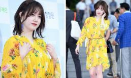 Bị chê quá béo, Goo Hye Sun tái xuất nhẹ nhõm hơn nhưng đây mới là điều dân mạng bàn tán