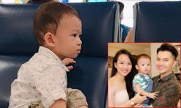 Sau hơn 1 năm 'úp mở', cuối cùng ca sĩ Nam Cường cũng chịu khoe ảnh cận mặt con trai
