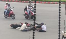 Clip 'tâm sự hai người đàn ông' sau vụ va chạm giao thông khiến dân mạng 'phát sốt'