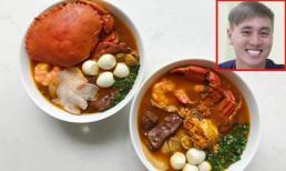 Học công thức làm bánh canh cua siêu ngon từ diễn viên Kiên Hoàng để đãi cả nhà dịp cuối tuần