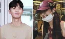 'Phó tổng' Park Seo Joon và 'thư ký Kim' Park Min Young tới Thái Lan nghỉ dưỡng cùng đoàn làm phim