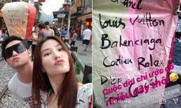 Đi du lịch Đài Loan, Quang Vinh và Diễm My 9x cầu ước điều vô cùng thực tế khi thả đèn trời